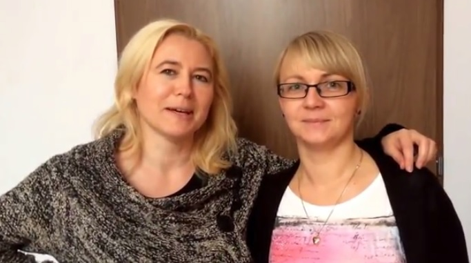 Lidia Węsierska i Magdalena Tecław z Sieci Barki
