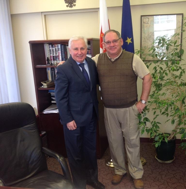 Spotkanie z Konsulem Generalny RP w Vancouver Panem Krzysztofem Czaplą